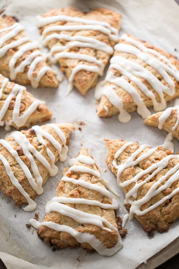 basic scone recipe that has been sweetened with pure maple syrup and ...