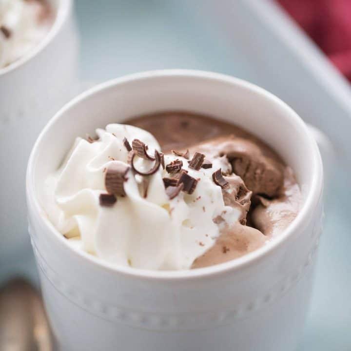 Mocha Mudslide Hot Chocolate