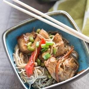 Chicken Teriyaki with Noodles-5