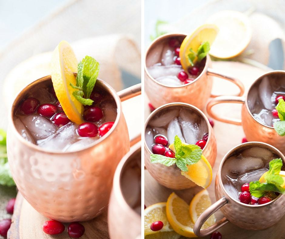A Cranberry Moscow Mule Drink Recipe That Is Essential For The Holidays Lemonsforlulu