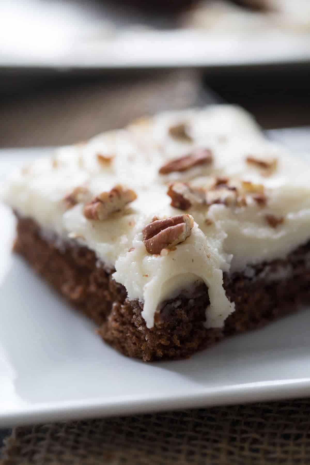 Gingerbread Texas Sheet Cake Recipe Lemonsforlulu Com