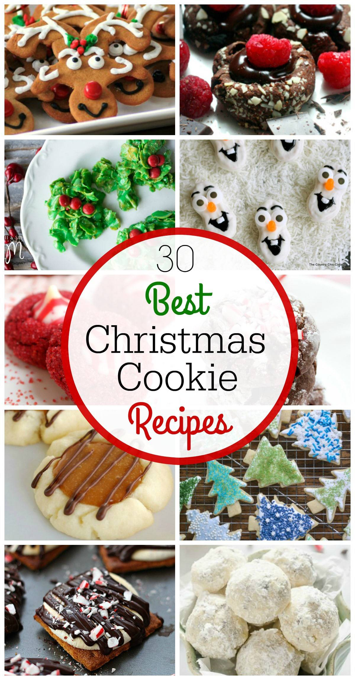 30 of the best christmas cookie recipes in one spot these cookies are fun - Best Christmas Cookies Recipes