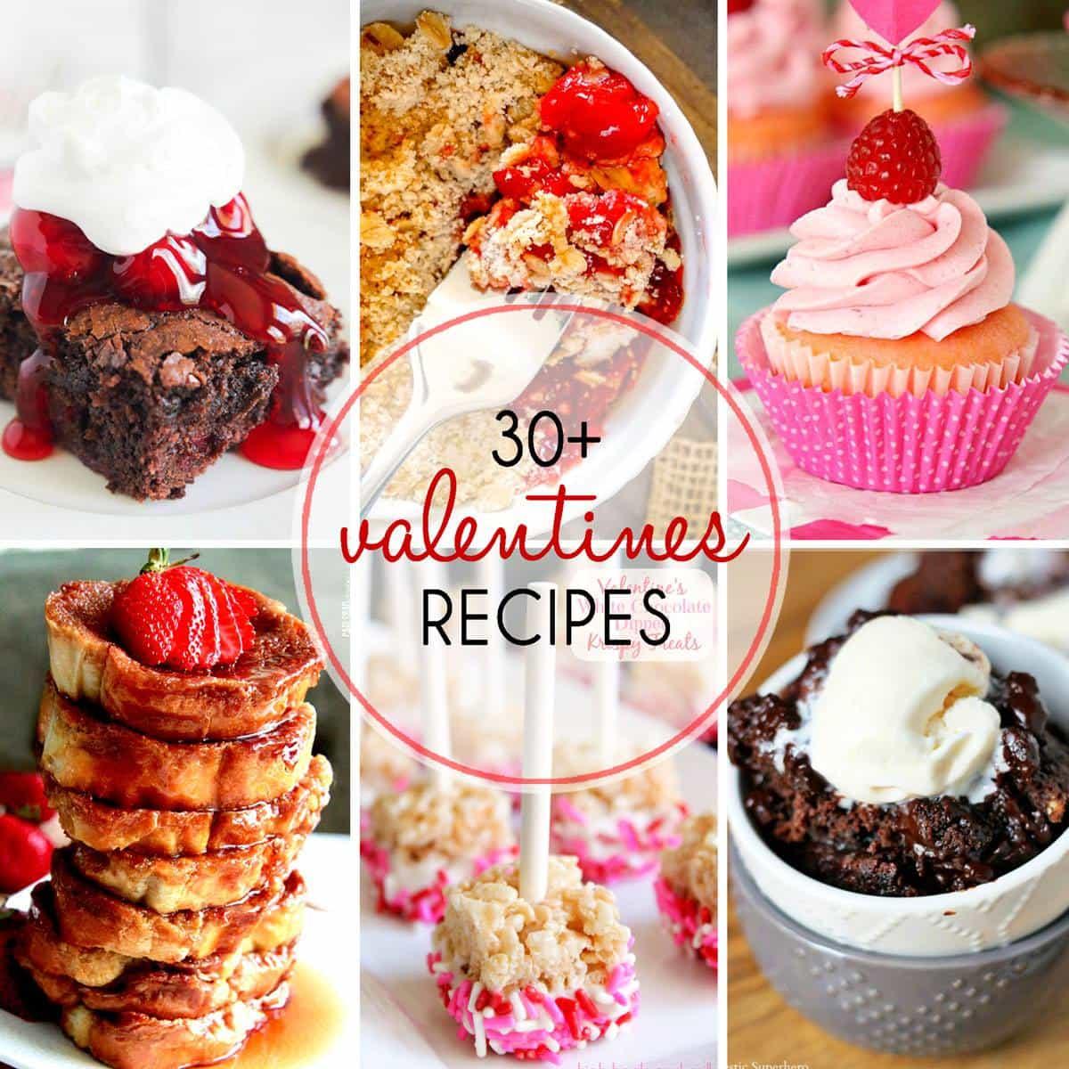 Valentineu0027s Day Recipes