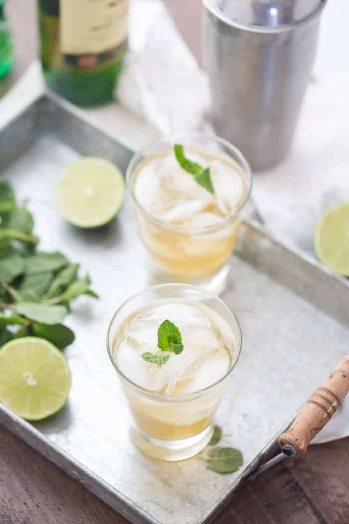 Irish  Mojito, shared by Lemons for Lulu at the Clever Chicks Blog Hop