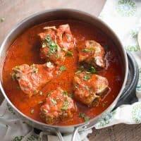 Greek Style Lamb Chops