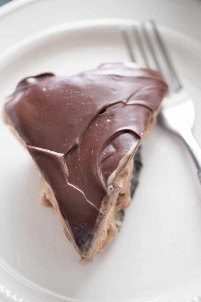 Love ice cream? Then you will love this coffee mocha ice cream pie!