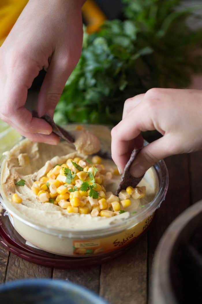 Whether you eat this Mexican street corn salsa as a topping or a dip, you will walk away totally satisfied!