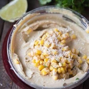 This Mexican street corn salsa recipe is so easy and it is the perfect compliment to any meal!