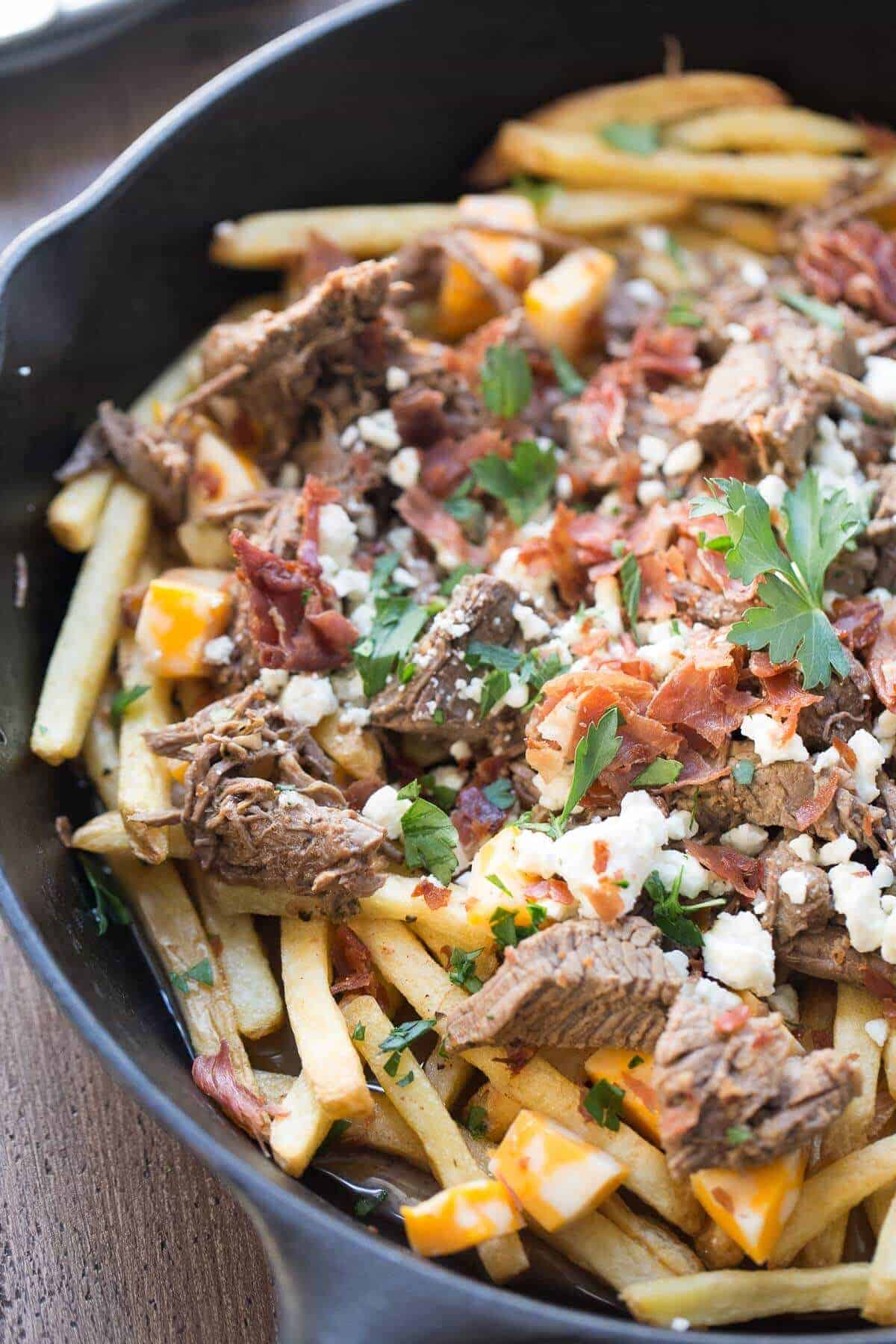 Poutine - Savory Experiments   Canadian Cheese Fries And Gravy