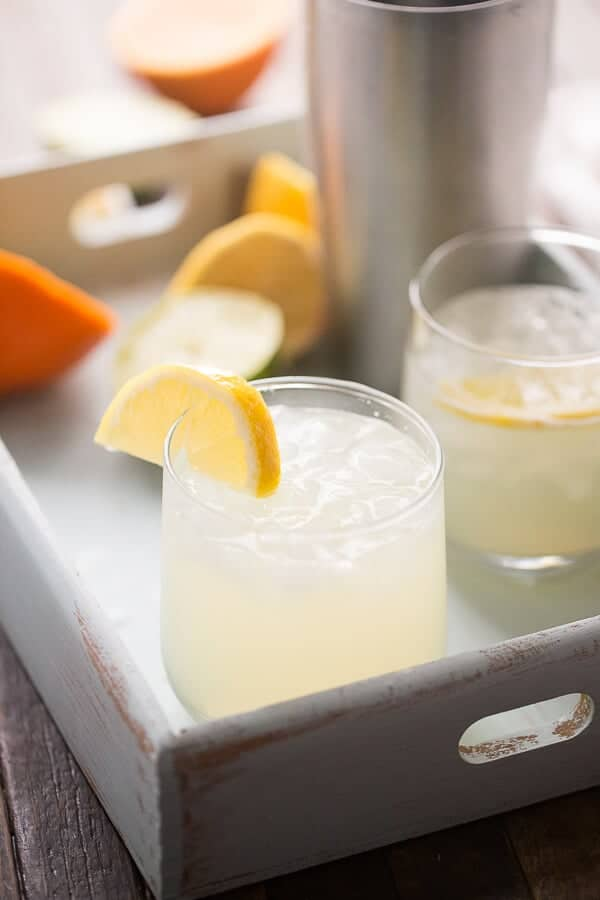 A virgin margarita that is crisp, cool and refreshing!