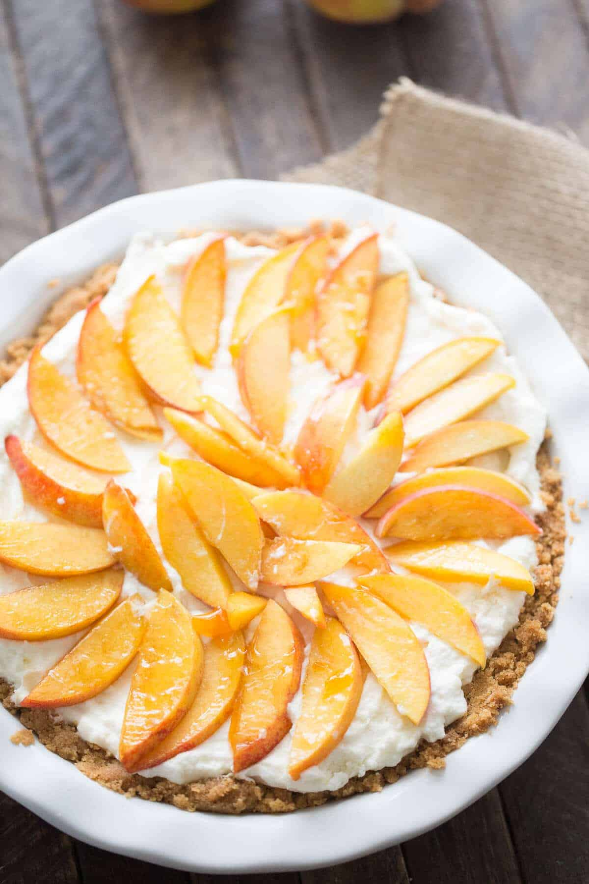 Fresh Peach Pie {Lemons for Lulu}