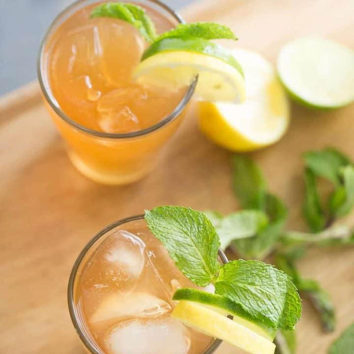 Lemonade Moscow Mule Cocktail