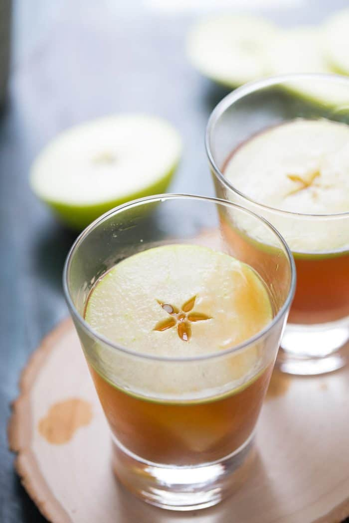 Caramel apple cocktail is the adult version of the classic fall treat ...