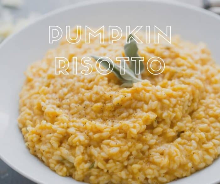 ... . This pumpkin risotto is a fall-inspired twist on this classic dish