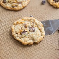 Big chocolate chips and crunchy Butterfingers make these Butterfinger cookies taste outstanding!