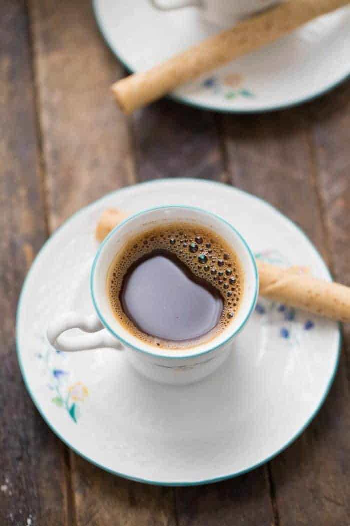 Greek coffee is a staple in our house the rich tasting coffee and deep flavored aroma will have you hooked too!