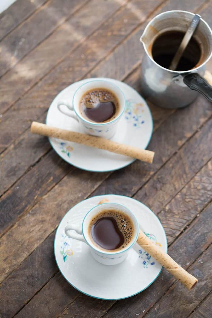 Need a pick me up? Then grab a pot and treat yours!elf to Greek coffee