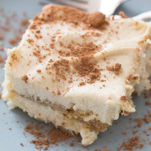 Love tiramisu? This easy fall inspired version will make you happy!