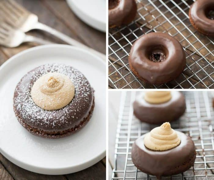 Love buckeyes? This easy buckeye mini cakes recipes turns the beloved candy into a simple dessert!