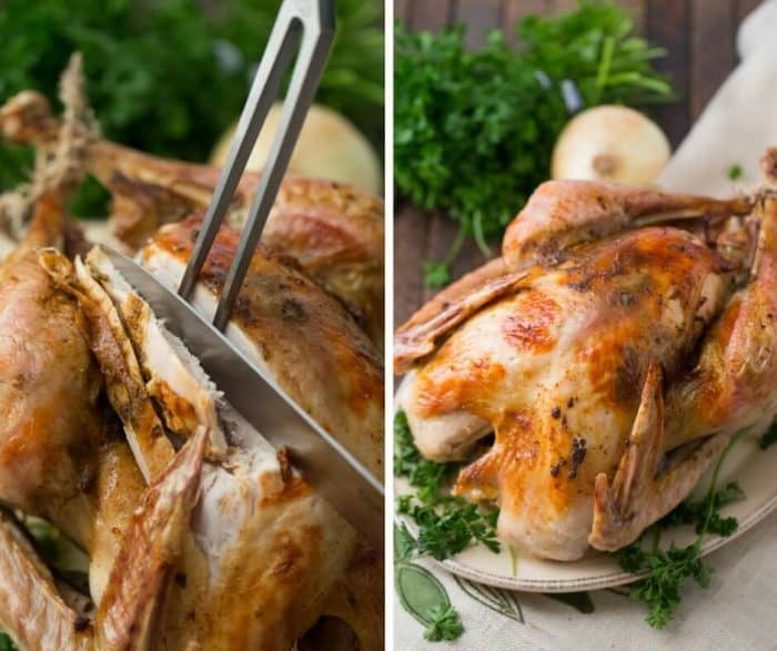 This cajun turkey has a smokey, spicy sweet flavor that is out of this world!