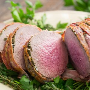 The perfect special occasion entree is the eye of round roast!