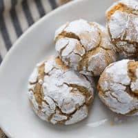 Caramel Crinkle Cookies