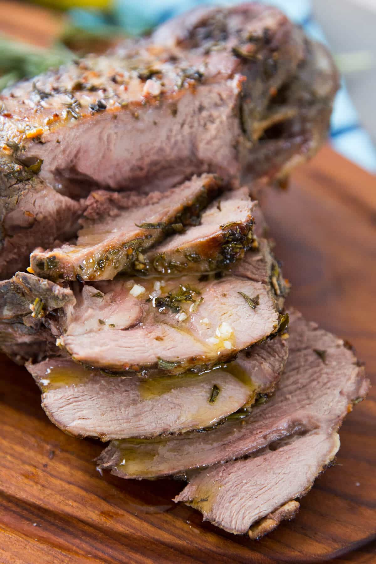 Lamb roast is a must for special occasions like Easter! The Greek style roast is sure to steal the show!
