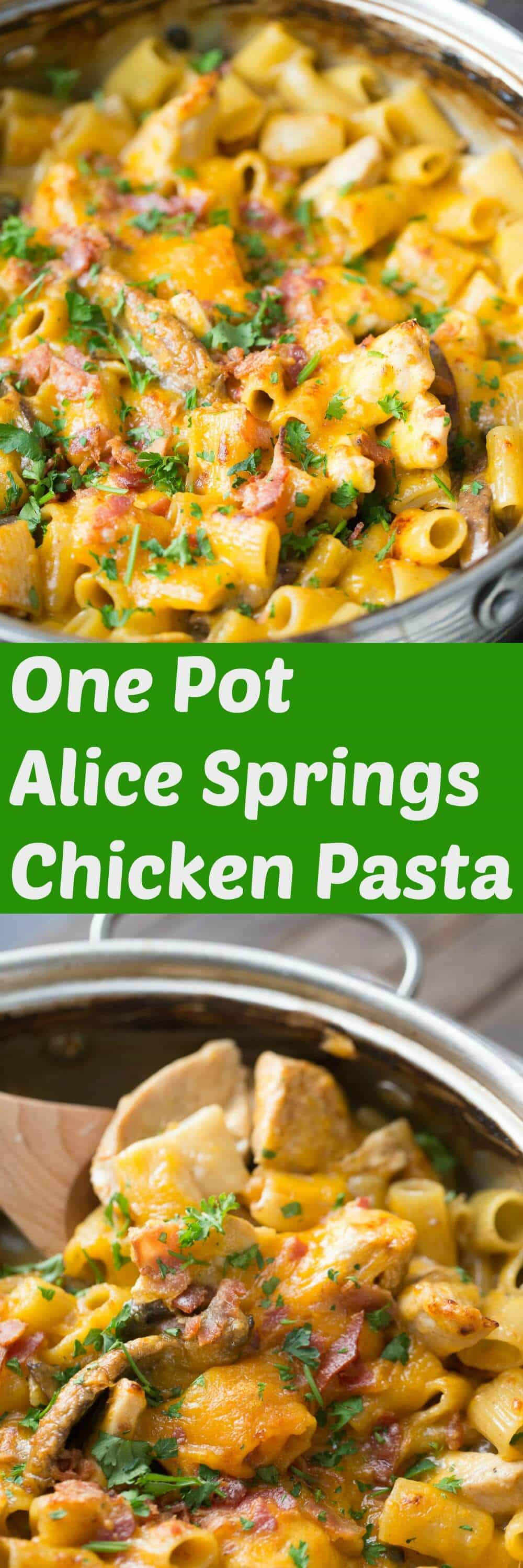 This Alice springs chicken is a one-pot favorite! It has everything you love about the restaurant's classic dish, but it's easy and made right in your own kitchen!