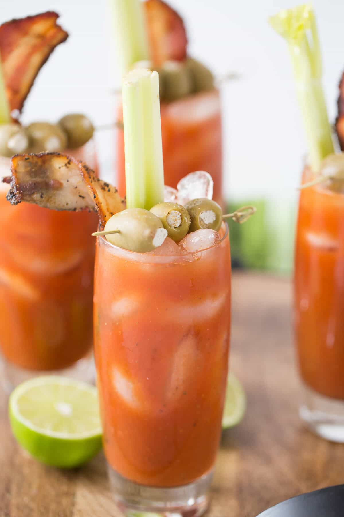 This bloody Mary has one spicy kick! If you are a Buffalo lover, then this cocktail is for you!!