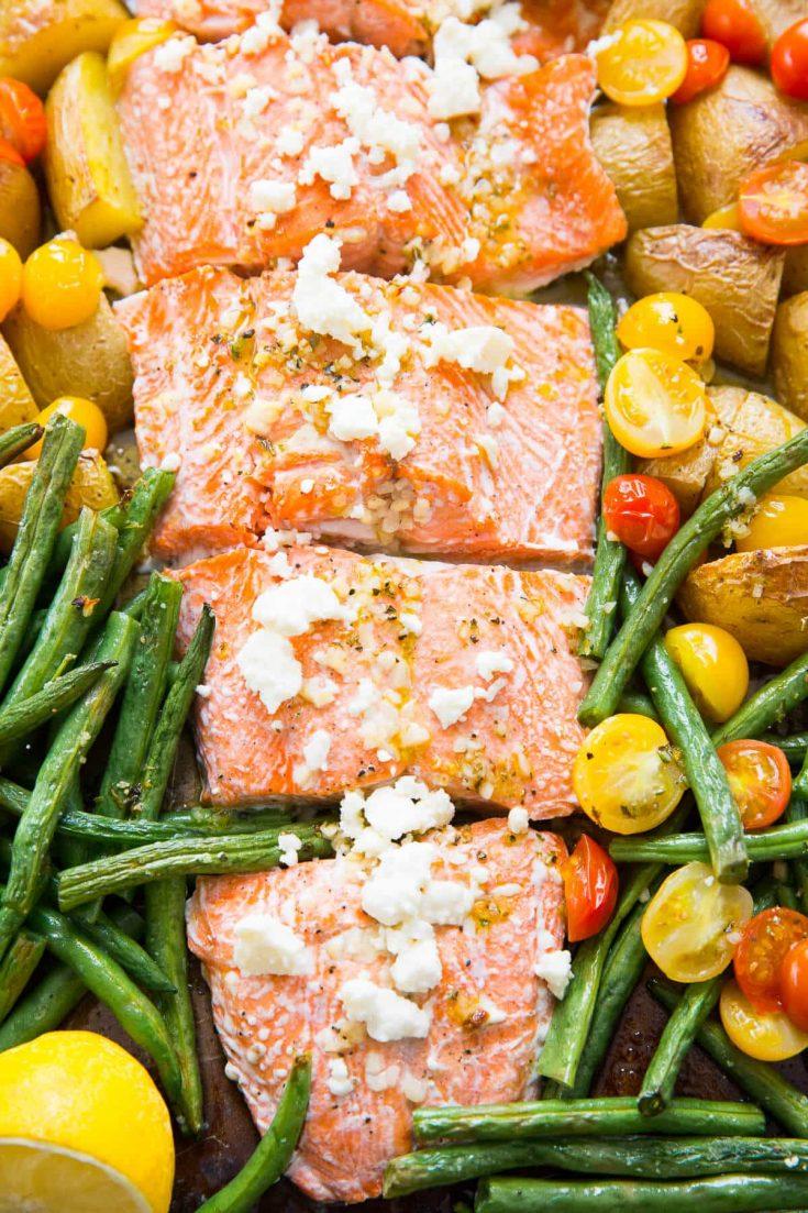 Mediterranean Salmon (Sheet Pan)
