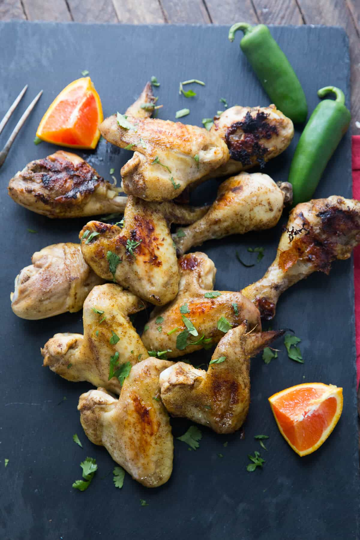 Jamaican jerk chicken is an island essential! This is an easy way to enjoy jerk chicken at home!