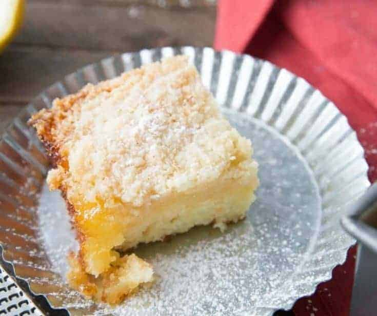 Lemon Crumb Cake Recipe