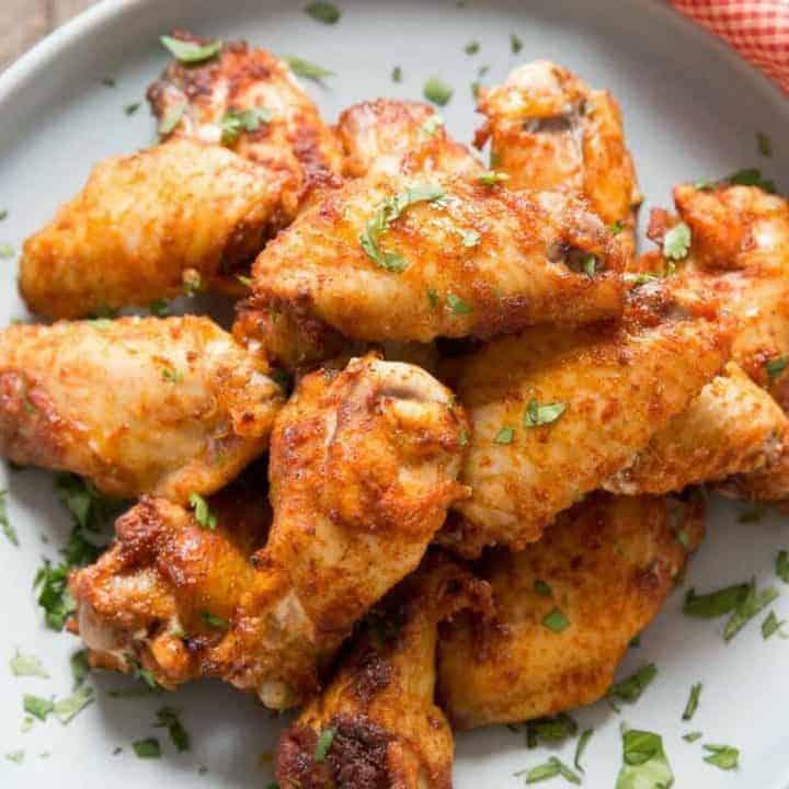 Dry Rub Chicken Wing