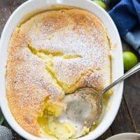 Key Lime Pudding Cake