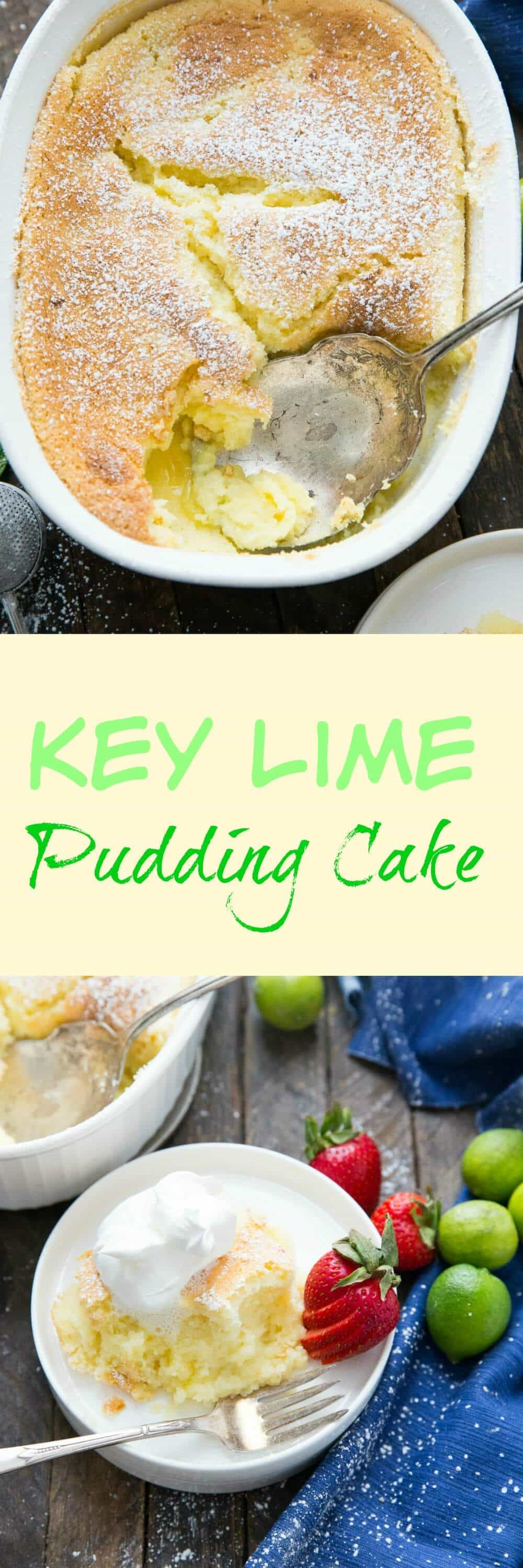 Pudding cakes are magical! This dessert features a light cake layer that gets baked up over a tangy pudding layer. This is impressive yet simple!