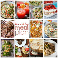 Weekly Meal Plan is here to help make your life easier!