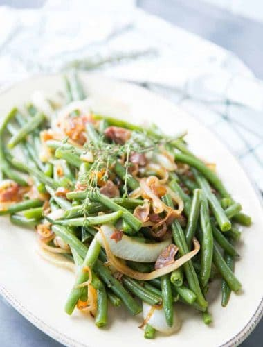 Balsamic Green Beans | Lemons for Lulu