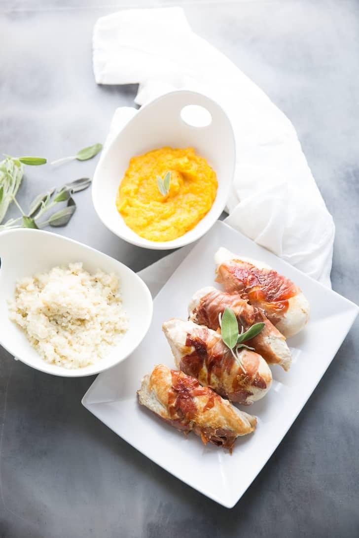 Easy chicken saltimbocca
