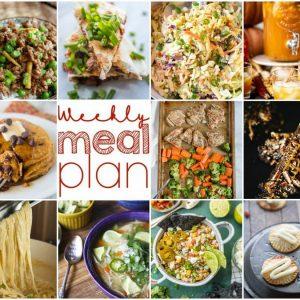 Weekly Meal Plan #118