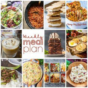 Weekly Meal Plan #117