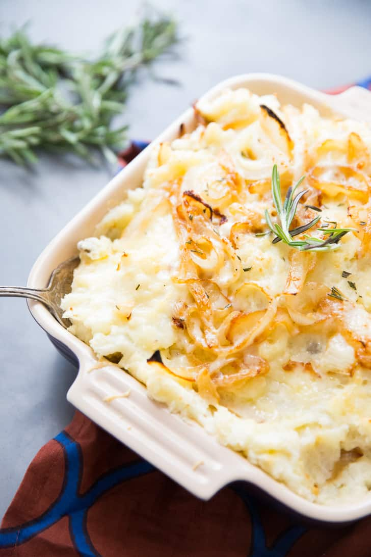 How to make cheesy mashed potatoes
