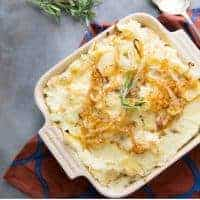 Easy Cheesy Mashed Potatoes