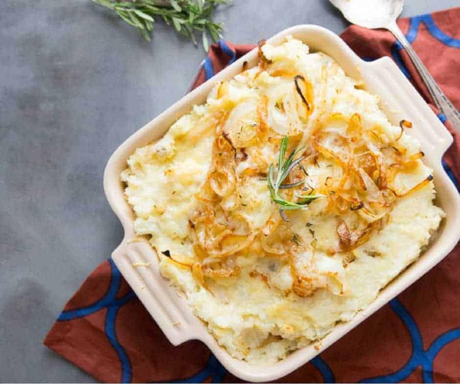 Easy Cheesy Mashed Potatoes