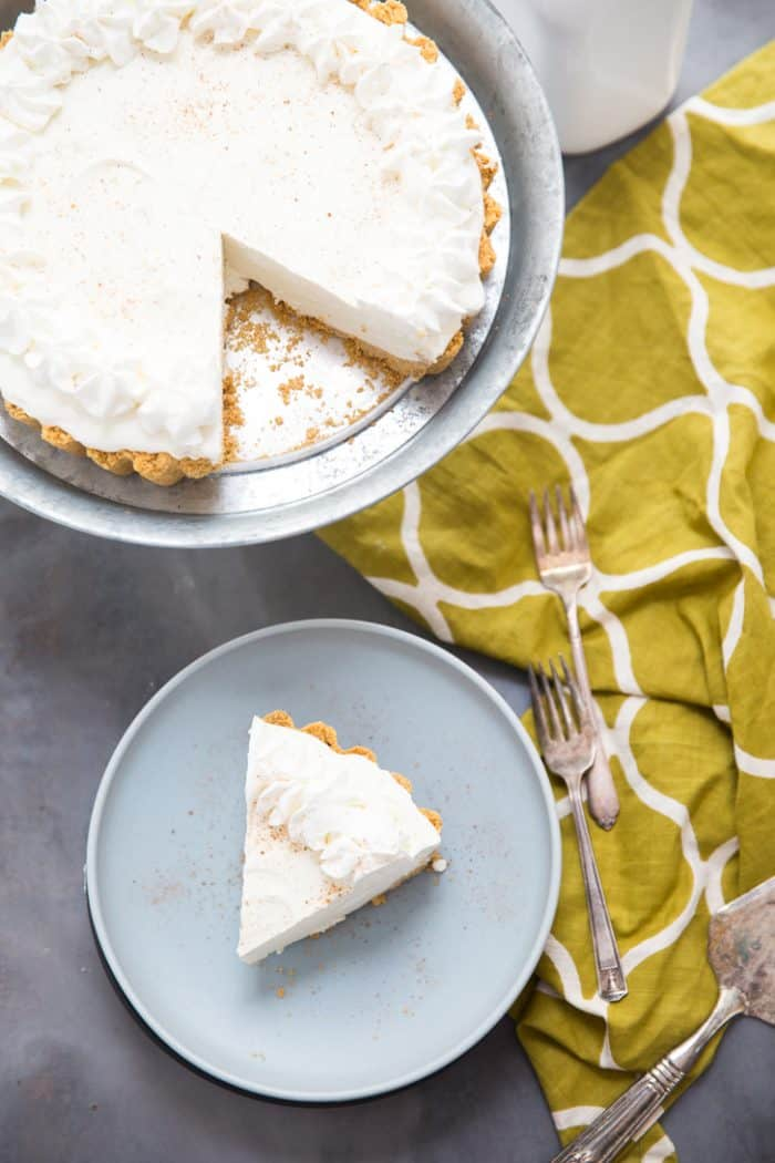 Easy eggnog cheesecake recipe