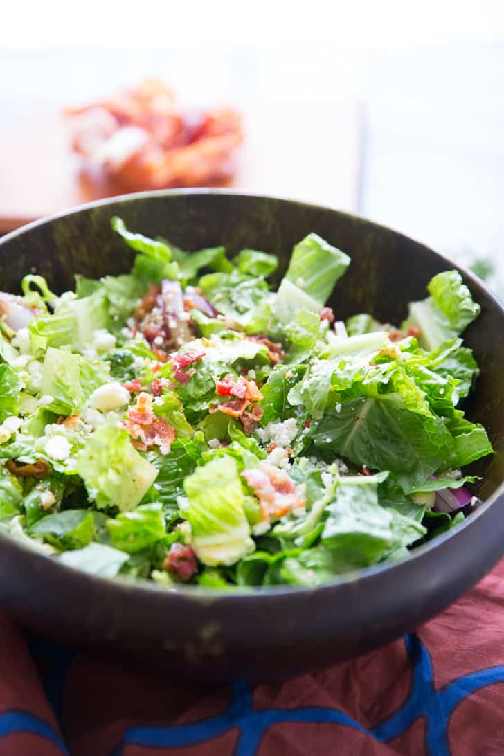Hot Bacon Salad