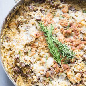 easy skillet beef casserole