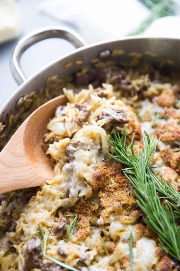 ground beef casserole pasta