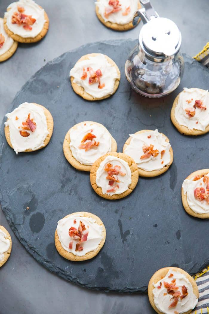 maple bacon cookies recipe
