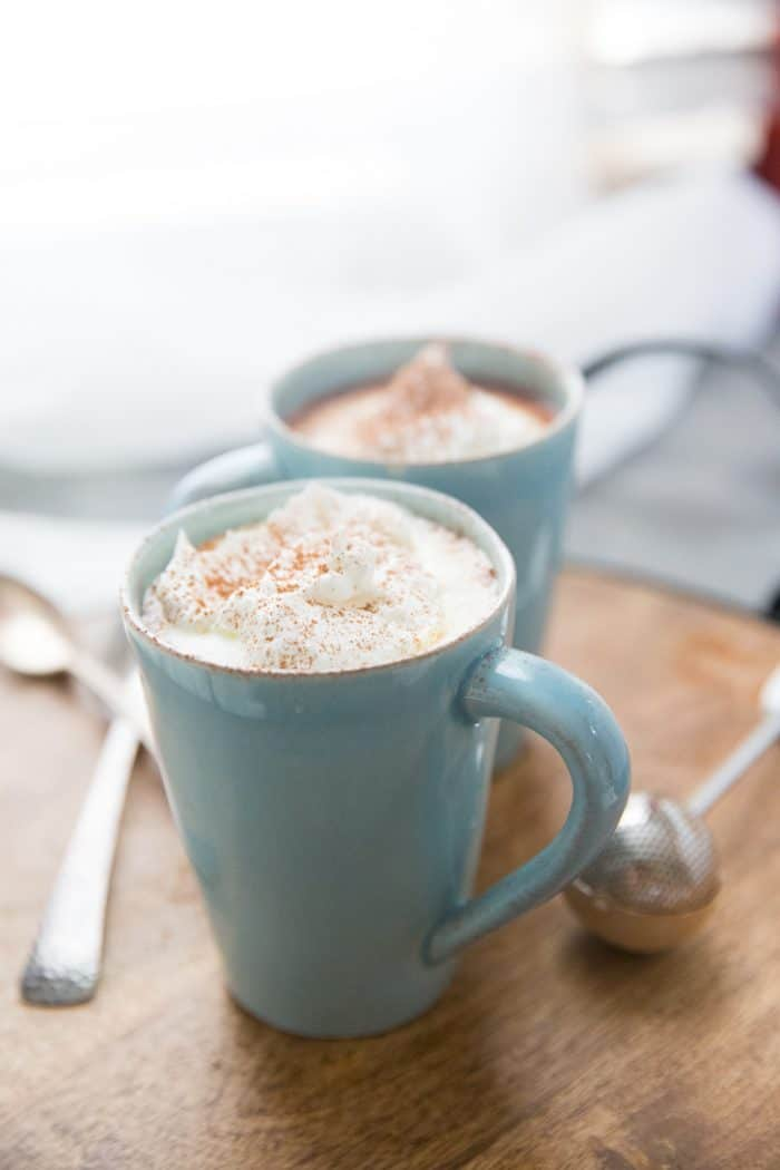 White hot chocolate easy