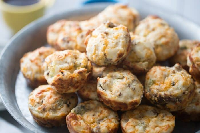 Savory breakfast biscuits